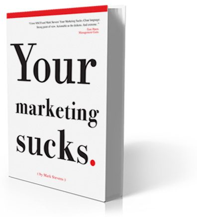 Image of the Your Marketing Sucks Book